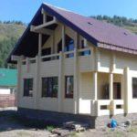Строительство домов из бруса - Алтайлес